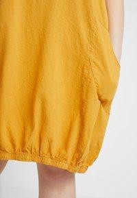 Zizzi - MMARRAKESH DRESS - Day dress - golden yellow - 4