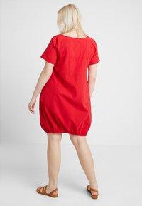 Zizzi - MMARRAKESH DRESS - Day dress - lipstick red - 2
