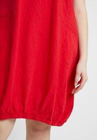Zizzi - MMARRAKESH DRESS - Day dress - lipstick red - 4