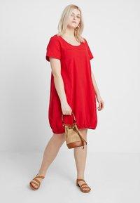 Zizzi - MMARRAKESH DRESS - Day dress - lipstick red - 1