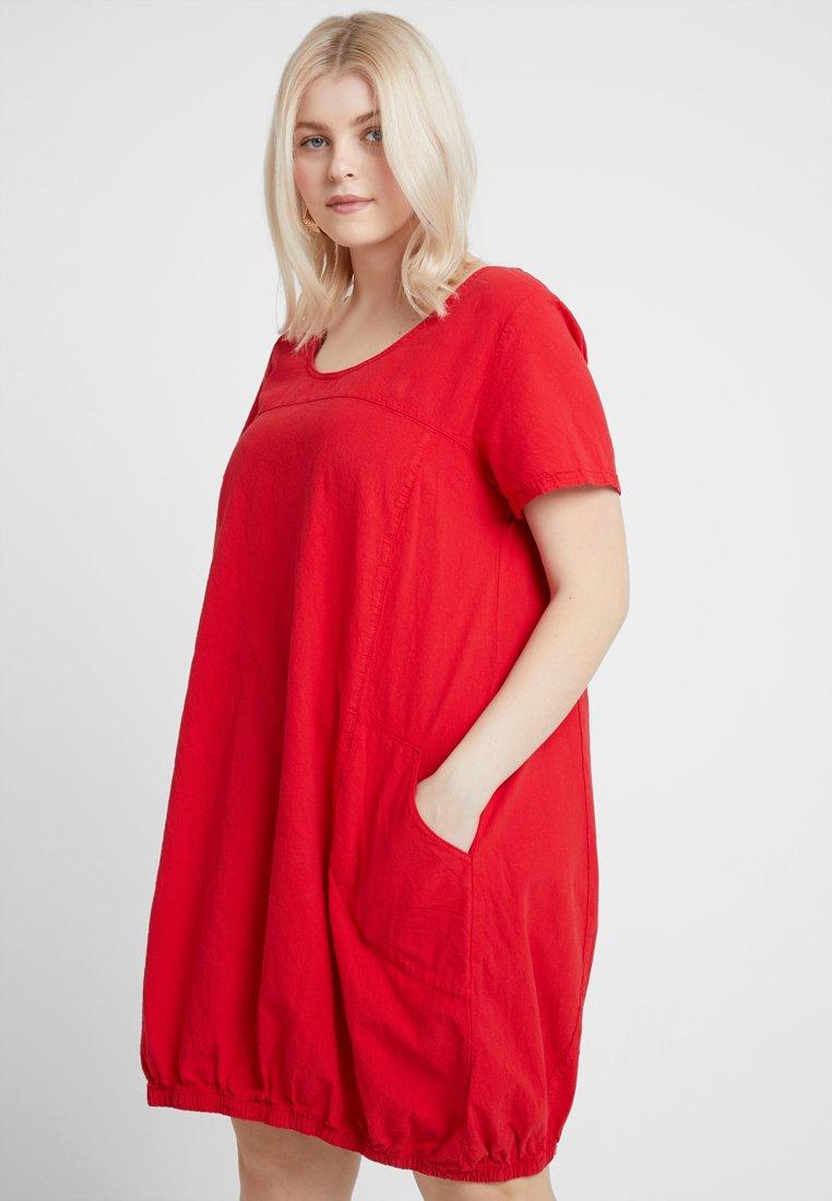 Zizzi - MMARRAKESH DRESS - Day dress - lipstick red