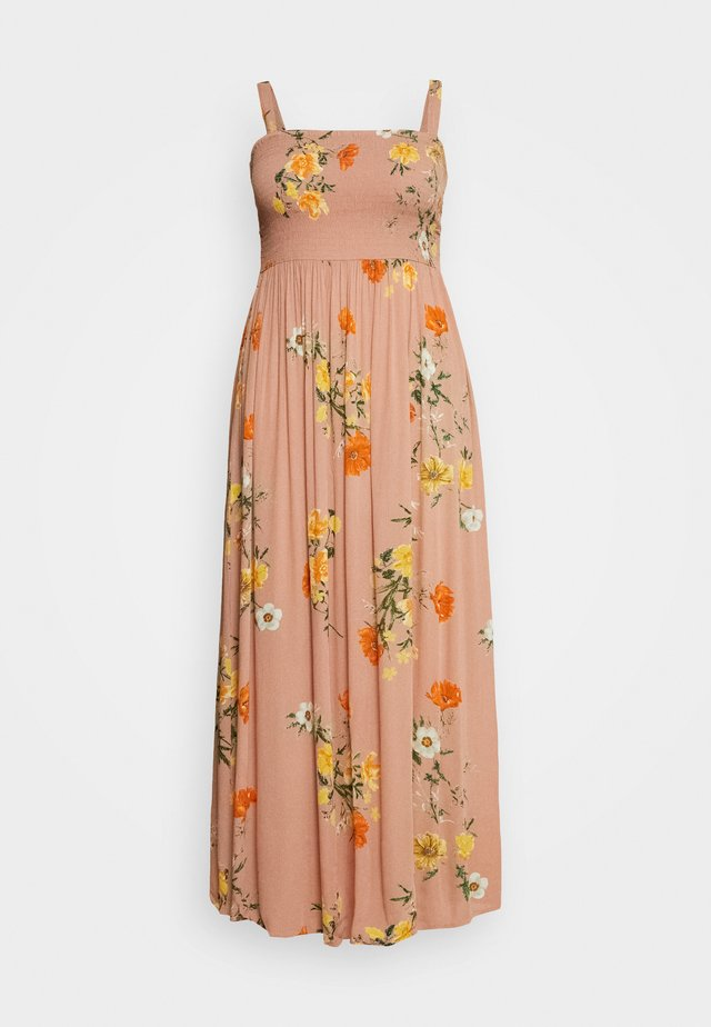 VCIGGA STRAP DRESS - Maxi dress - rose