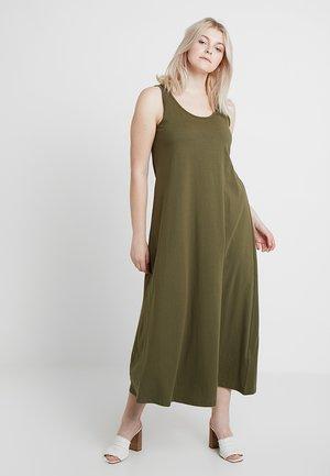 DRESS - Jerseykjoler - ivy green