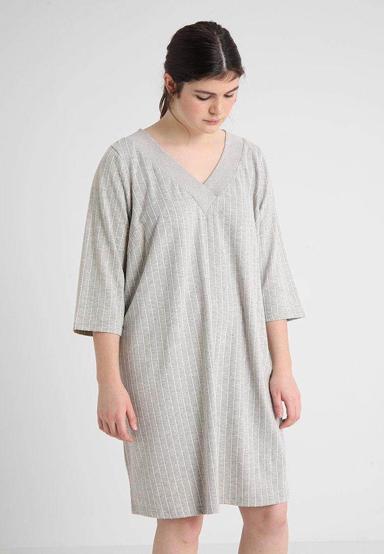 Zizzi - MEMMA - Vestido ligero - light grey melange