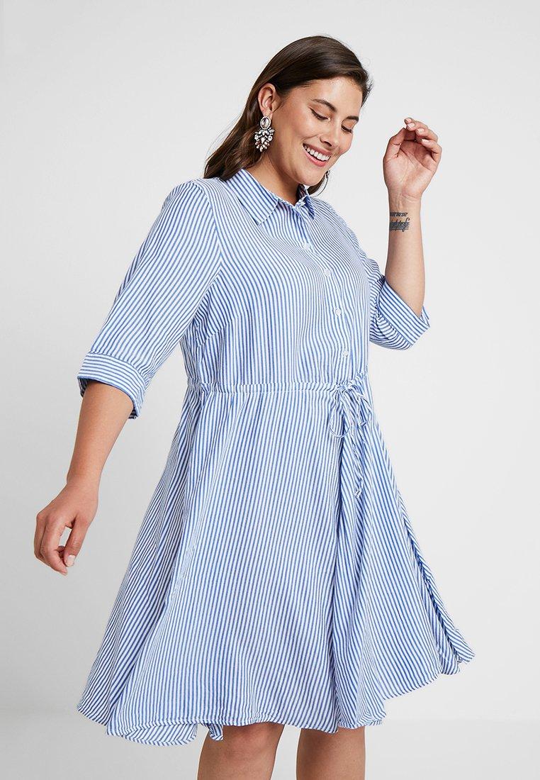 Zizzi - DRESS - Shirt dress - cashmere blue