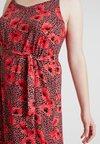 Zizzi - XIVA STRAP MEDI DRESS - Day dress - dusty cedar