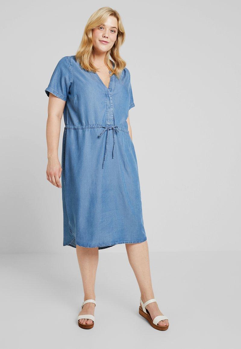 Zizzi - MNOVA DRESS - Robe en jersey - light blue
