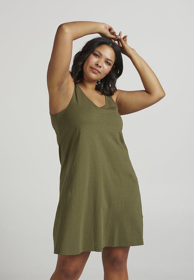 Jerseykleid - green