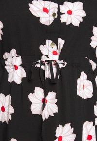 Zizzi - VVEGA DRESS - Skjortekjole - black - 4