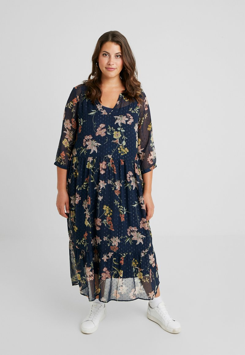 Zizzi - XEMMA MAXI DRESS - Maxikleid - night sky comb