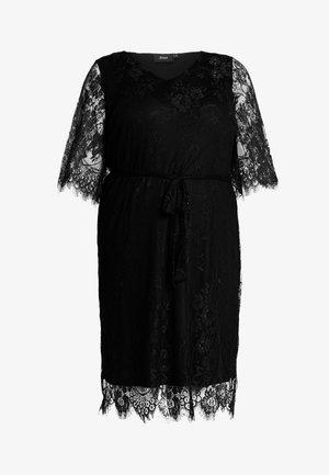 XYANA KNEE DRESS - Koktejlové šaty/ šaty na párty - black