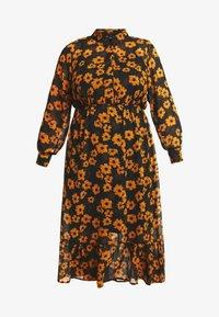 Zizzi - DRESS - Robe chemise - black - 3