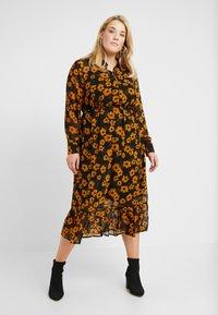 Zizzi - DRESS - Robe chemise - black - 0