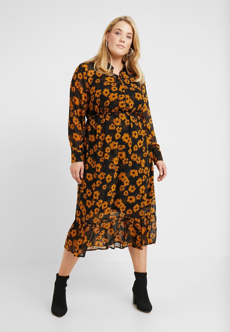 Zizzi - DRESS - Robe chemise - black