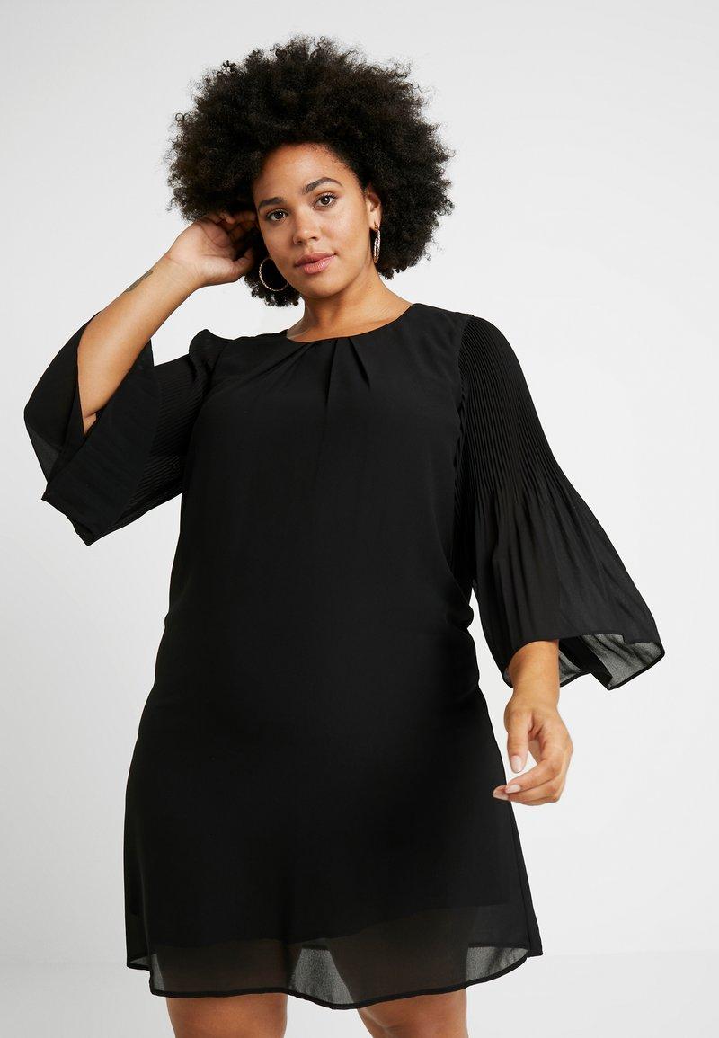 Zizzi - EXCLUSIVE EPRETTY DRESS - Freizeitkleid - black