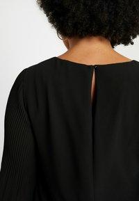 Zizzi - EXCLUSIVE EPRETTY DRESS - Korte jurk - black - 6