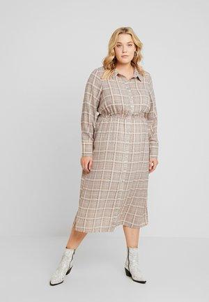 XCHECKI DRESS - Skjortklänning - multicolor
