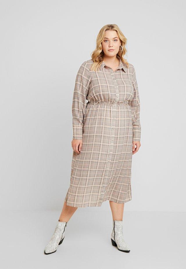 XCHECKI DRESS - Shirt dress - multicolor