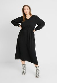 Zizzi - MPEYTON DRESS - Kjole - black - 0