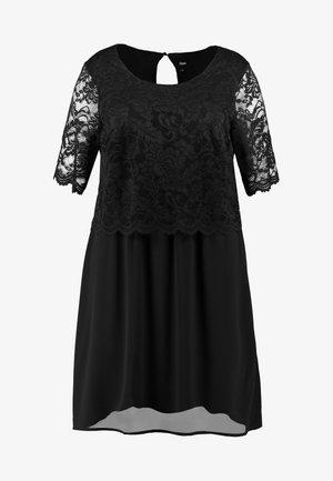 XDILIA KNEE DRESS - Robe de soirée - black