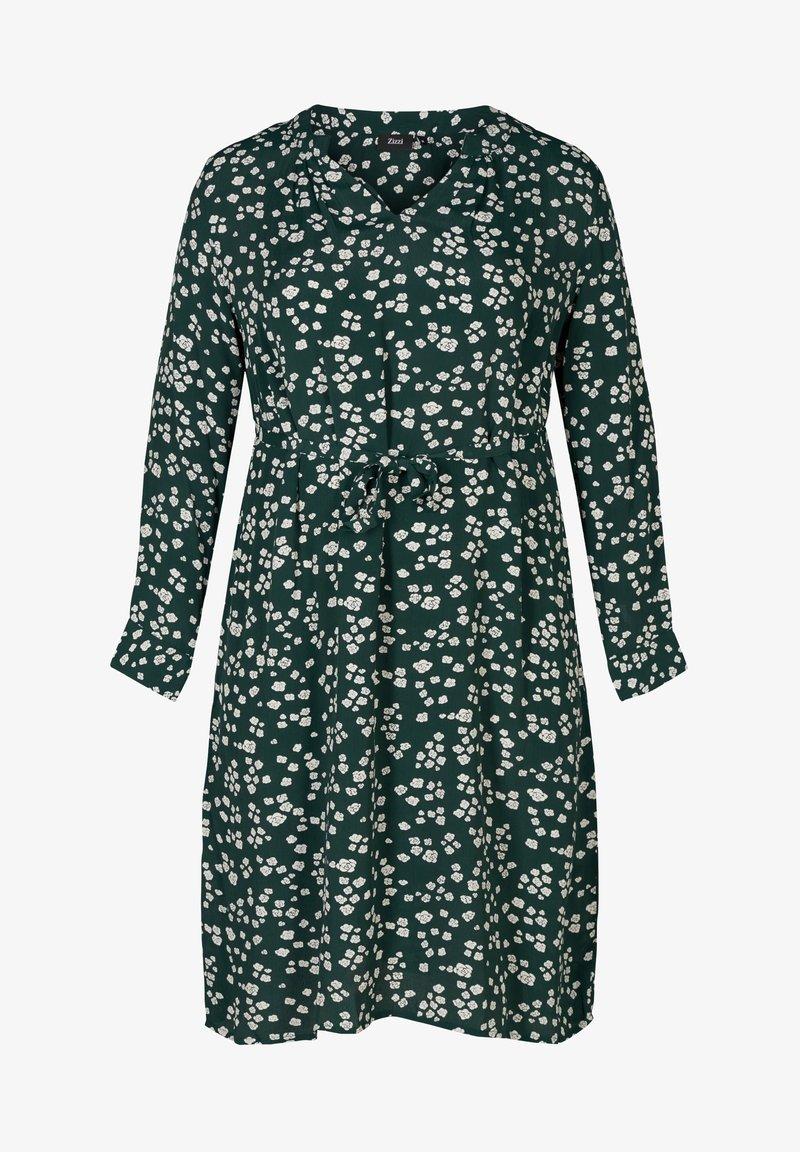 Zizzi - Day dress - dark green