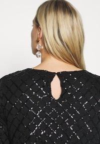 Zizzi - MPAIR  DRESS - Cocktailkjole - black - 5