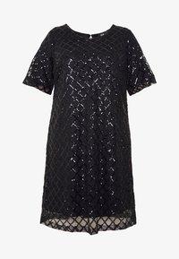 Zizzi - MPAIR  DRESS - Cocktailkjole - black - 4