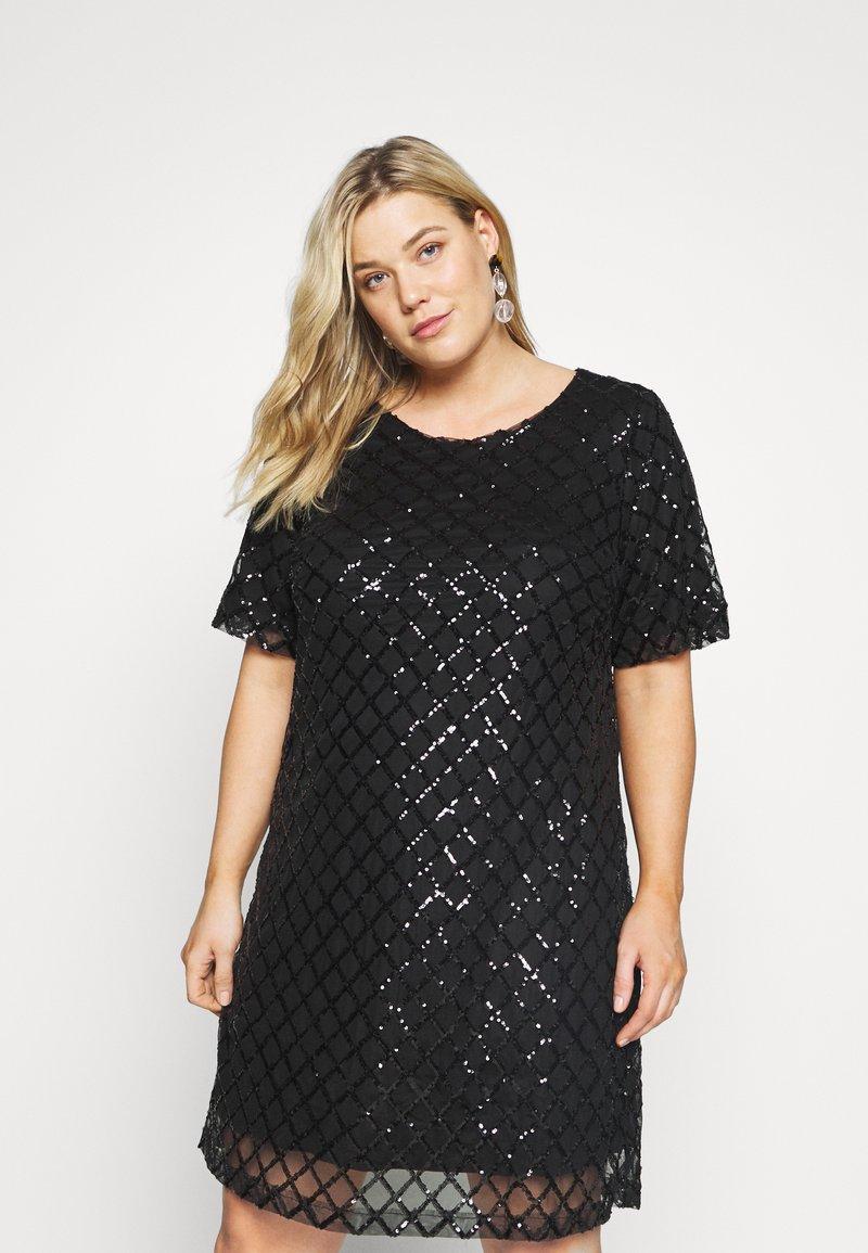 Zizzi - MPAIR  DRESS - Cocktailkjole - black