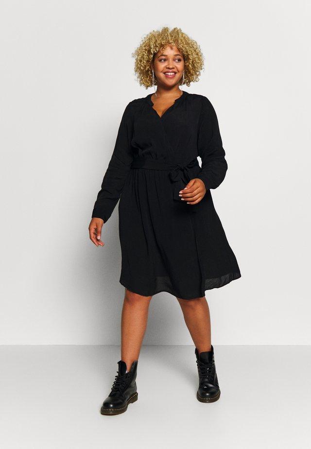 XWYLLIE KNEE DRESS - Korte jurk - black