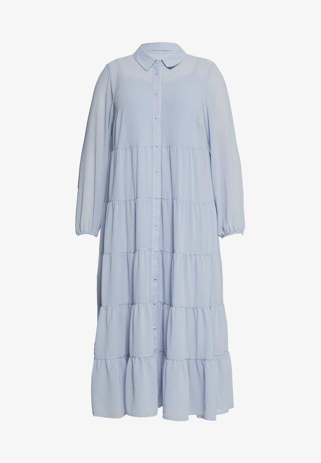 LULU DRESS - Košilové šaty - blue