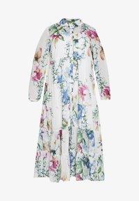 Zizzi - LULU DRESS - Košilové šaty - brown - 4