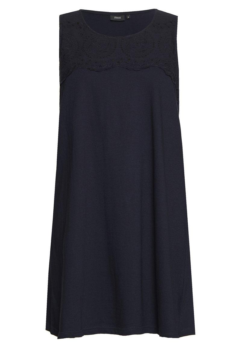 Zizzi - VSOFIA DRESS - Jersey dress - night sky