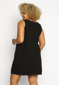 Zizzi - VSOFIA DRESS - Jersey dress - black - 2