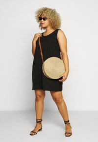 Zizzi - VSOFIA DRESS - Jersey dress - black - 1