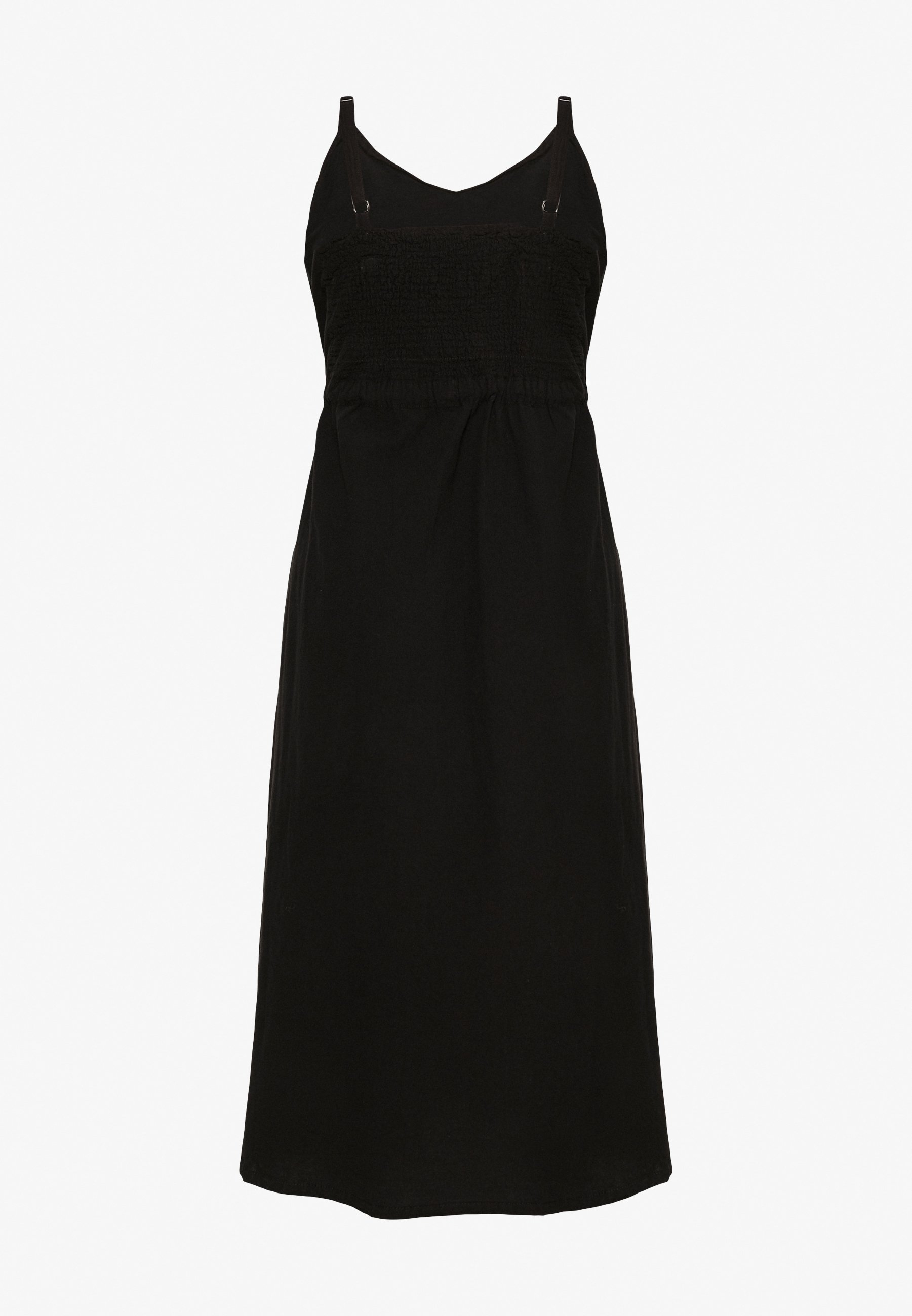 Zizzi Luise Strap Dress - Korte Jurk Black DLwLe97