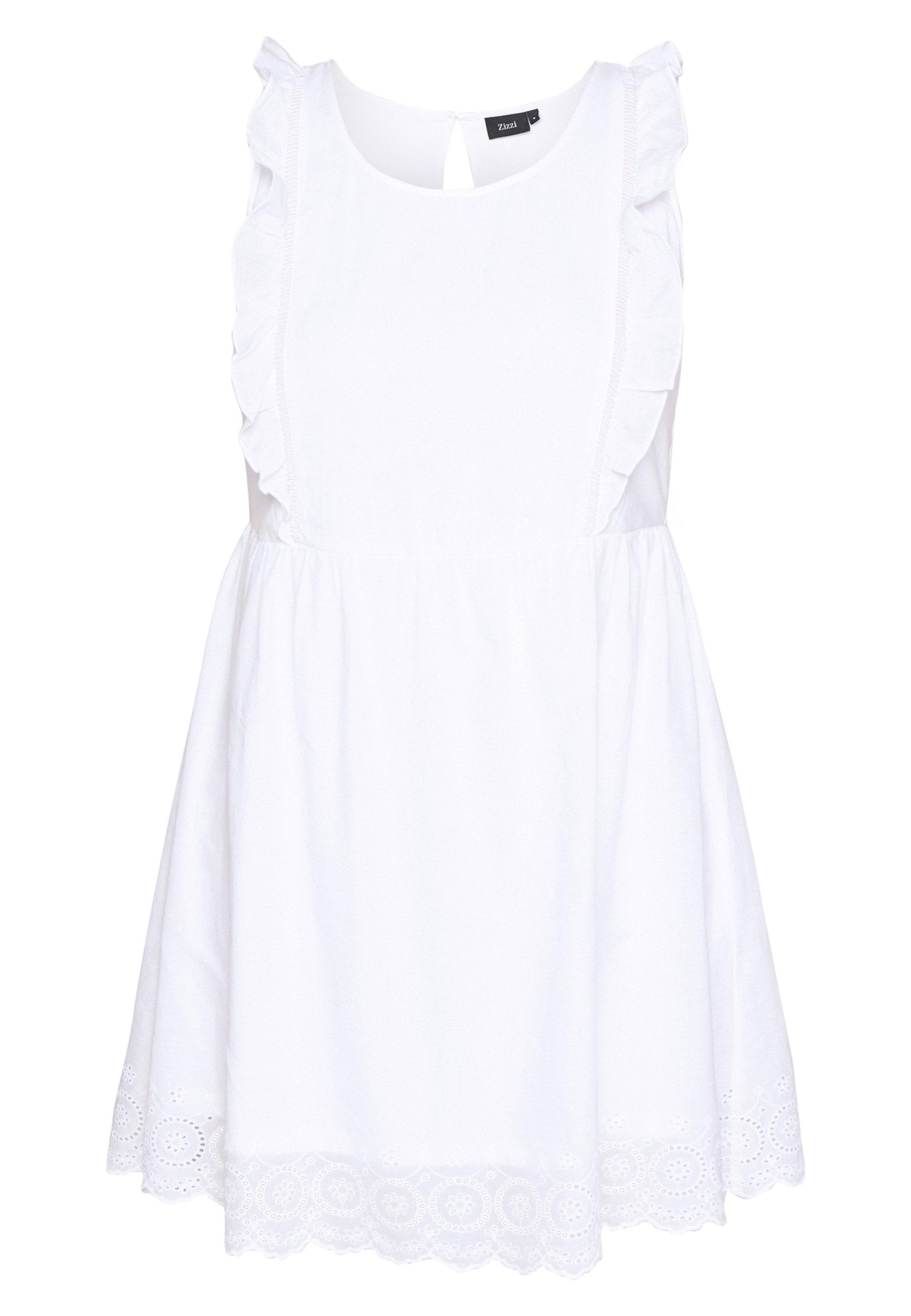 Zizzi Vamelia Dress - Kjole Bright White