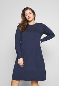 Zizzi - MLILIANA DRESS - Day dress - mood indigo - 0