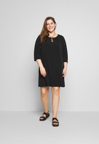 Zizzi - MLILA DRESS - Paitamekko - black - 1