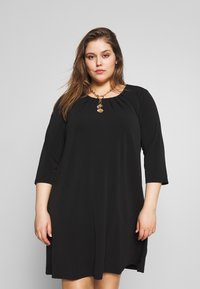 Zizzi - MLILA DRESS - Paitamekko - black - 0