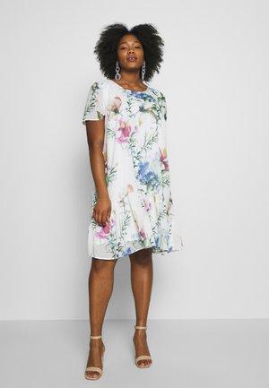 MILUNA DRESS - Denní šaty - snow white