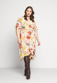 Zizzi - MILUNA DRESS - Korte jurk - multi-coloured - 1