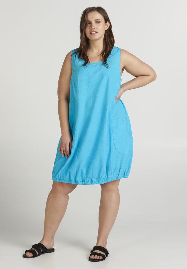 Freizeitkleid - turquoise
