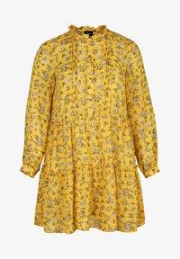 Zizzi - Day dress - yellow - 3