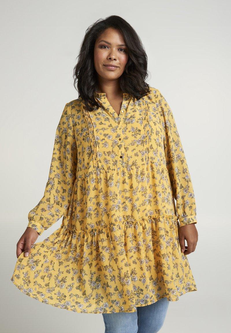 Zizzi - Day dress - yellow
