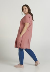 Zizzi - Day dress - pink - 2