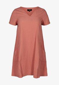 Zizzi - Day dress - pink - 3