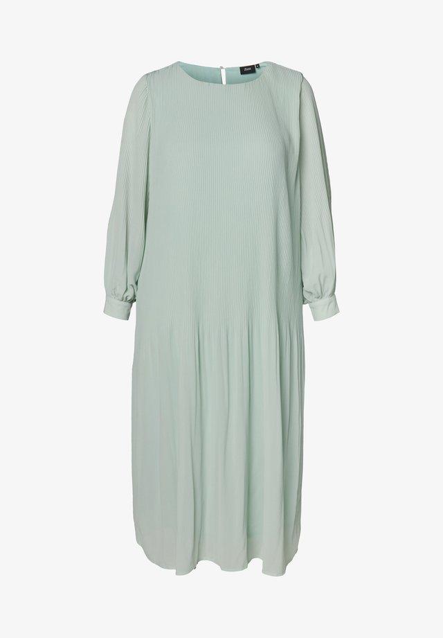 Korte jurk - light blue