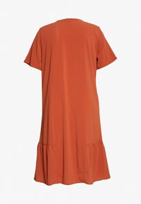 Zizzi - MCOMO KNEE DRESS - Day dress - burnt brick - 7