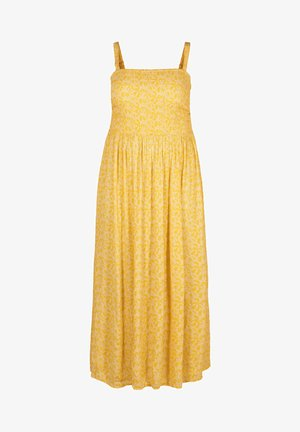 Korte jurk - yellow