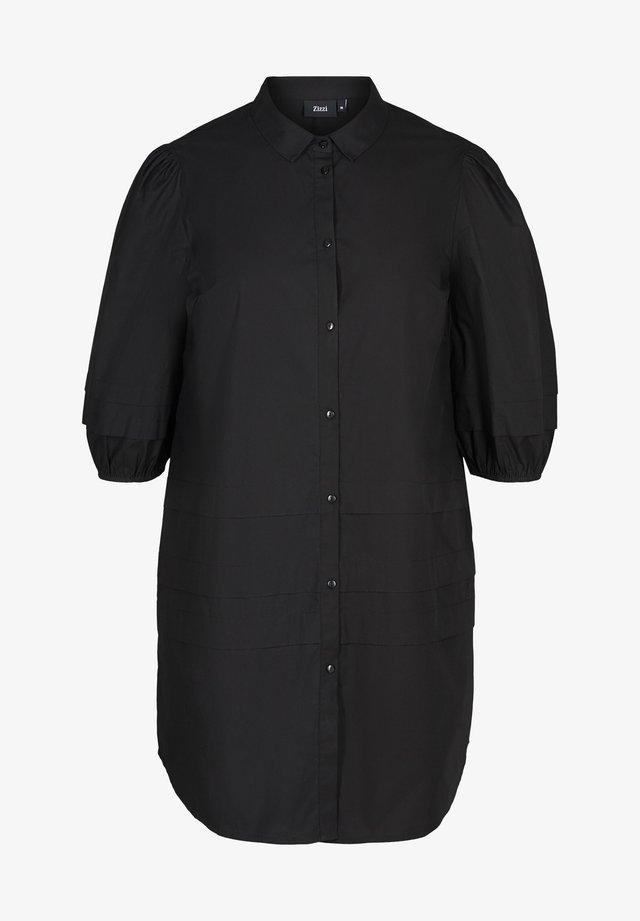 Abito a camicia - black